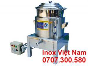 Nồi hấp bánh bao bằng điện, địa chỉ mua nồi hấp bánh bao bằng điện uy tín tại TP HCM. Liên hệ Inox Việt Nam.