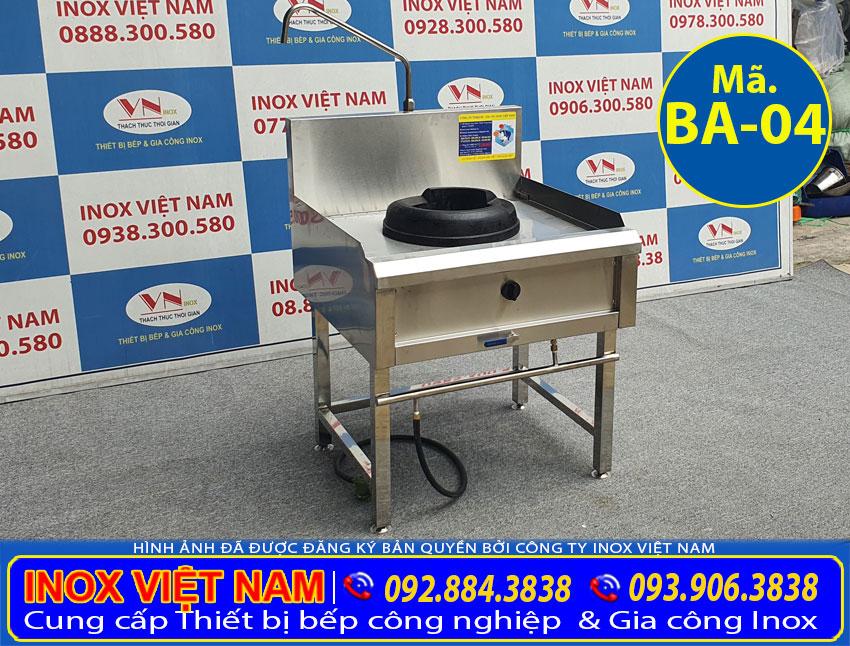 báo giá bếp á 1 họng kiềng gang giá tốt tại TP HCM.