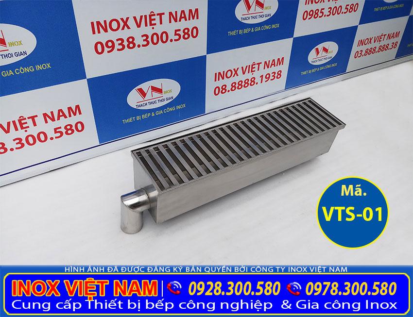 Liên hệ Inox Việt Nam báo giá vỉ thoát sàn inox, mương thoát nước theo đơn đặt hàng.