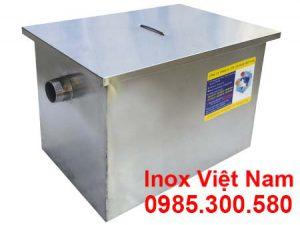 Bẫy mỡ inox 120 Lít giá tốt, bẫy mỡ inox nhà hàng 120L mua tại IVN.