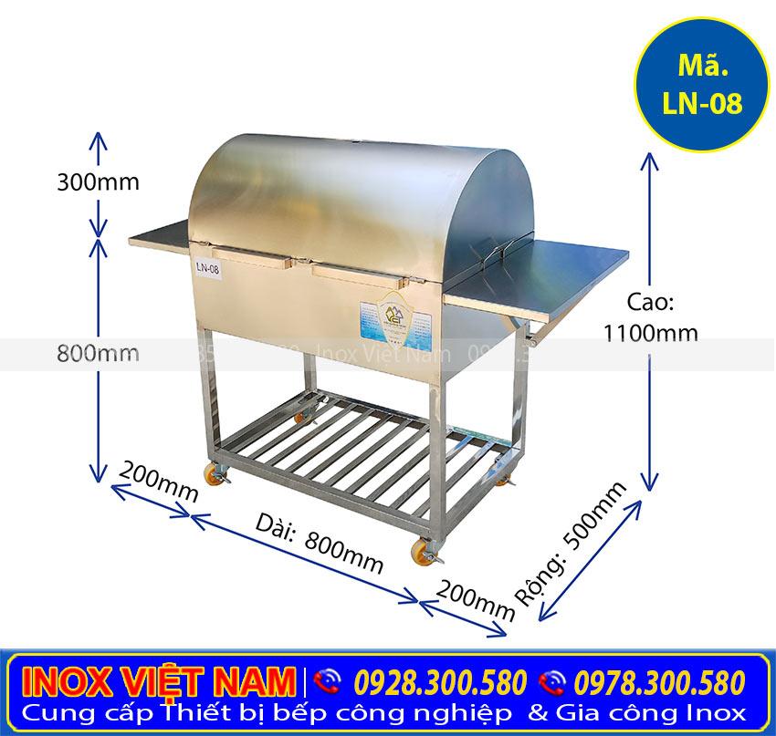 Bếp nướng than inox 304, bếp nướng than BBQ, bếp nướng than hoa không khói giá tốt tại Inox Việt Nam.