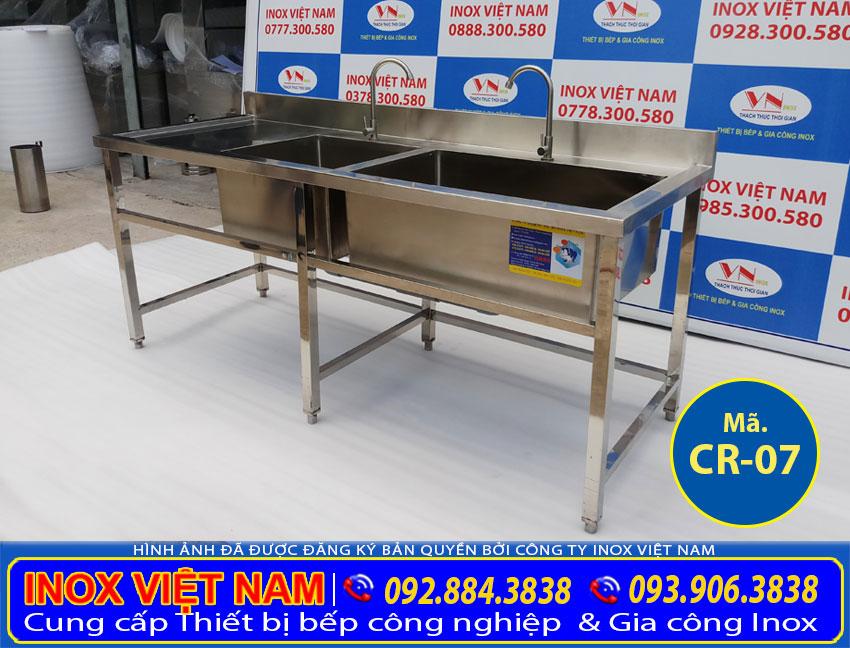 Chậu rửa công nghiệp inox mua ở đâu giá tốt uy tín chất lượng. Hãy liên hệ Inox Việt Nam tư vấn báo giá chậu rửa công nghiệp theo nhu cầu.