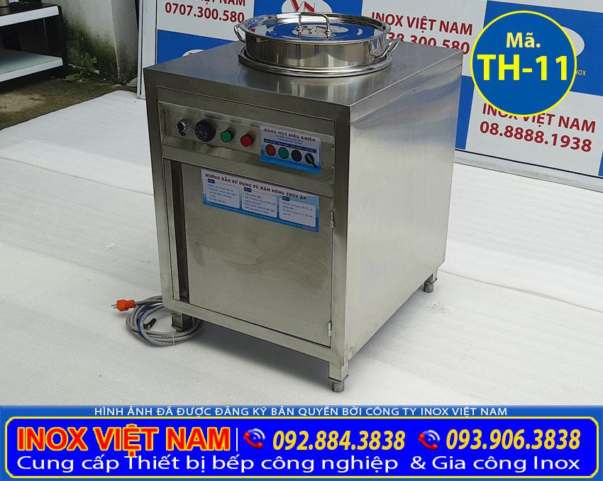 Địa chỉ bán tủ hâm canh có nồi 50 lít giá tốt tại tp hcm, nồi hâm và giữ nóng canh trong kinh doanh. Liên hệ Inox Việt Nam tư vấn báo giá.