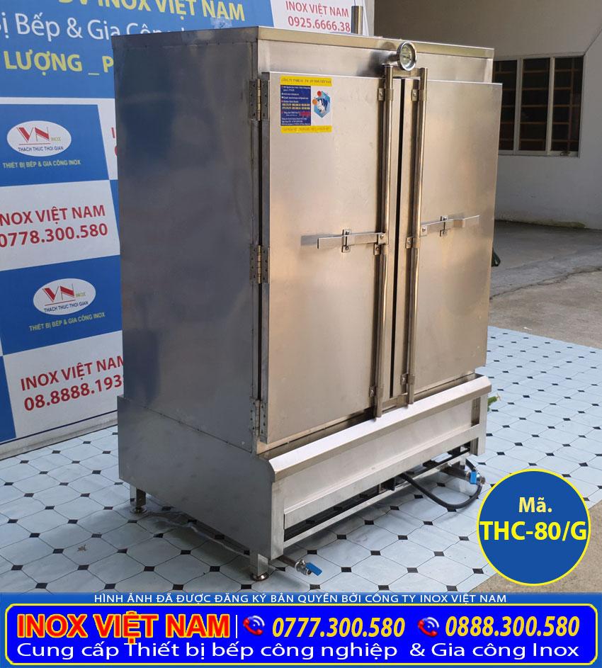 Địa chỉ mua tủ hấp cơm công nghiệp bằng gas uy tín chất lượng cao.