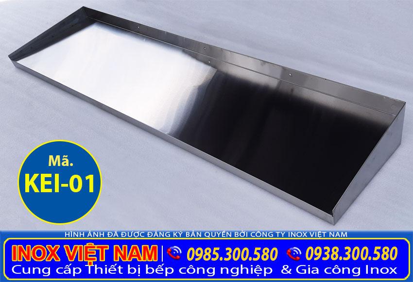 Giá kệ inox treo tường 1 tầng giá tốt tại TP HCM uy tín chất lượng. Liên hệ Inox Việt Nam ngay.