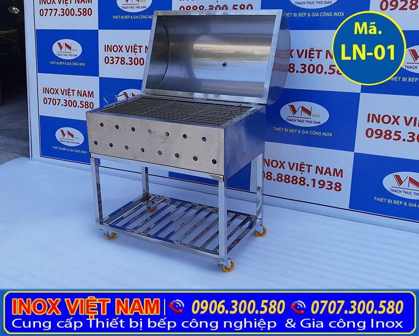 Bếp nướng inox, lò nướng than inox 304 giá tốt tại Inox Việt Nam.