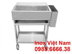 Lò nướng than inox ngoài trời ln18010