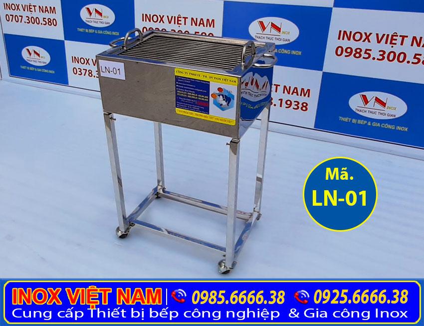 Lò nướng thịt bán cơm tấm bằng inox giá tốt tại xưởng Inox Việt Nam.