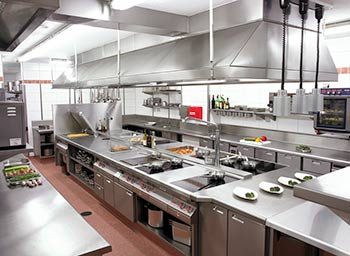 mô hình bếp nhà hàng - thiết bị bếp nhà hàng