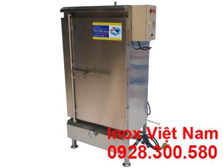 Tủ hấp cơm công nghiệp 50 kg bằng điện và gas giá tại xưởng sản xuất Inox Việt Nam.