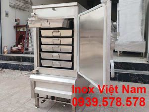Tủ cơm công nghiệp 30 kg, tủ hấp cơm bằng điện và gas 30 gạo kg, địa chỉ sản xuất tủ cơm bằng điện và gas uy tín chất lượng tại TP HCM