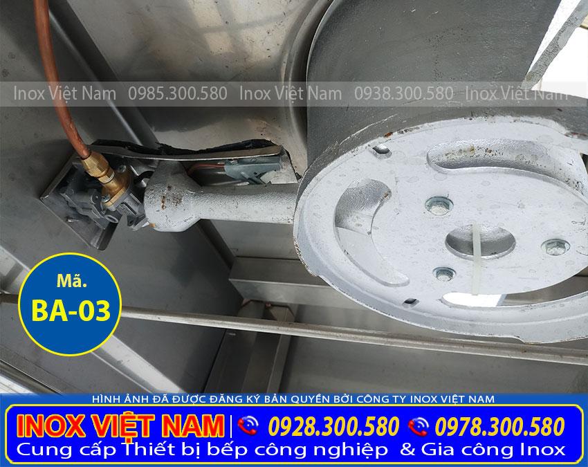 Giá bán bếp á đơn kiềng tô tại TP HCM, bếp inox loại 1 họng giá bao nhiêu. Gọi Điện Inox Việt Nam Ngay.