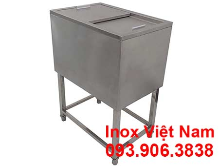 Thùng đá inox loại đứng mã 1088 sản phẩm chất lượng giá tốt tại xưởng sản xuất IVN.