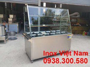 Tủ hâm nóng thức ăn 12 khay 3 tầng bằng điện, địa chỉ mua tủ hâm nóng thức ăn giá tốt tại khu vực TP HCM.