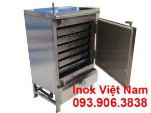 Tủ hấp cơm công nghiệp 30 kg bằng gas giá tốt khi mua tại IVN.