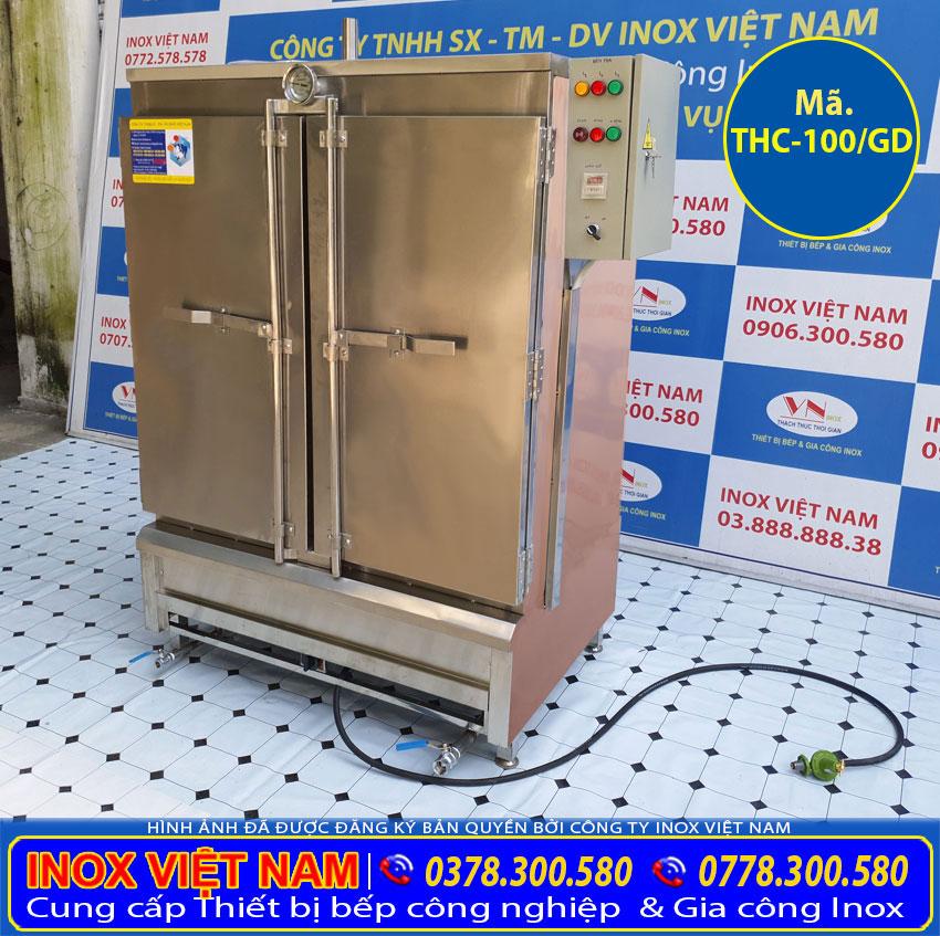 Tủ nấu cơm công nghiệp 100kg gạo chất lượng giá tốt.