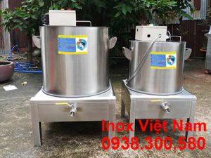 Bộ nồi nấu nước lèo bằng điện, nồi nấu nước phở.