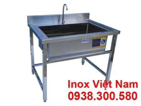 Chậu rửa inox đơn loại lớn công nghiệp sản phẩm uy tín chất lượng giá tốt