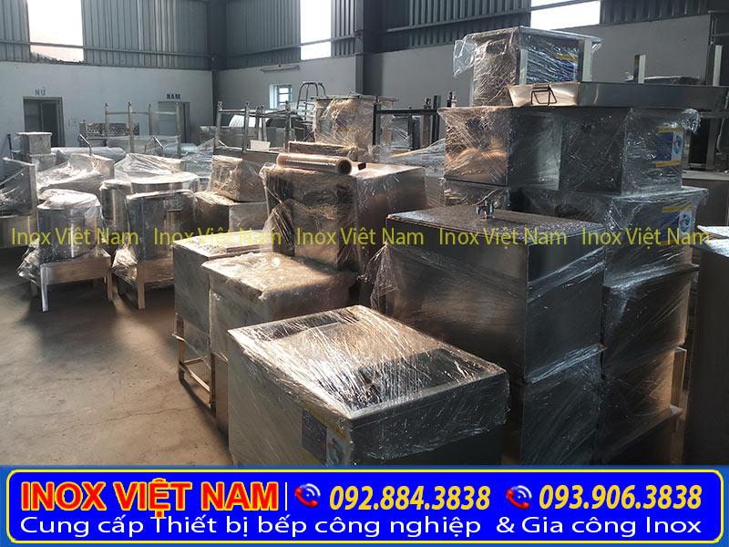 Sản xuất thùng đá inox 304 theo yêu cầu
