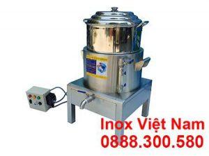 Nồi hấp cơm tấm bằng điện 1 tầng giá tốt tại xưởng sản xuất IVN.