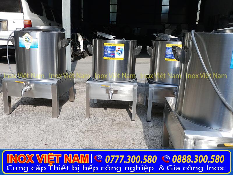 Báo giá nồi nấu nước phở bằng điện, nồi nấu nước lèo điện giá tốt tại xưởng Inox Việt Nam.