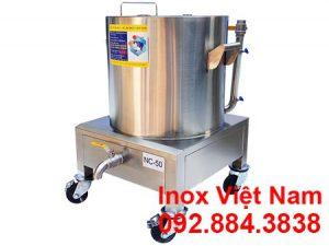 Nồi nấu cháo bằng điện 50L, nồi điện nấu cháo bằng điện loại 50L tại Inox Việt Nam.