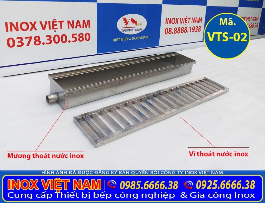 vỉ thoát sàn inox, bộ mươn và vỉ thoát sàn inox áp dụng cho khu bếp nhà hàng khách sạn và căn tin,... mua tại xưởng Inox Việt Nam.