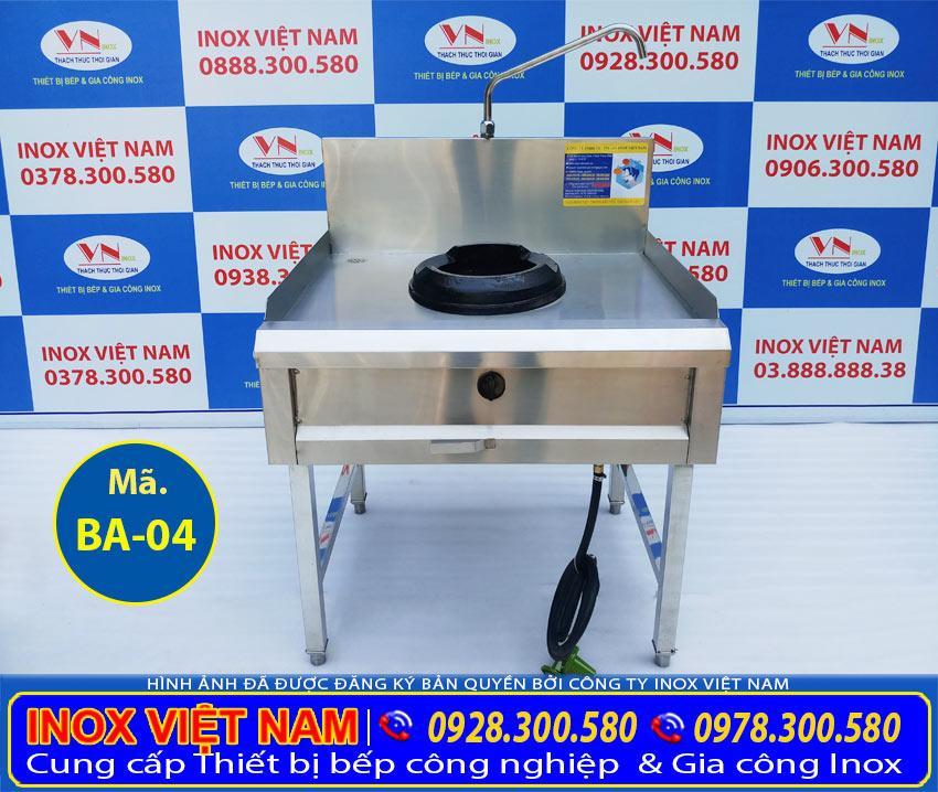Bạn muốn mua thiết bị bếp inox công nghiệp, bếp á 1 họng đốt kiềng giang, bếp á công nghiệp kiềng gang 1 họng đốt, bếp inox nhà hàng khách sạn. Nhanh chóng liên hệ Inox Việt Nam ngay.
