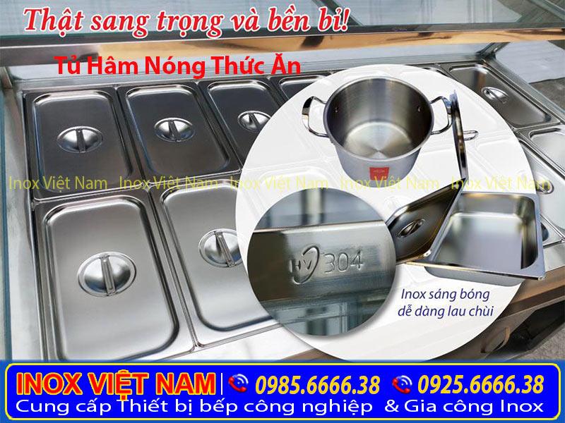 Bạn đang quan tâm tủ giữ nóng thức ăn giá bao nhiêu, tủ hâm nóng thức ăn mua ở đâu? Liên hệ Inox Việt Nam ngay.