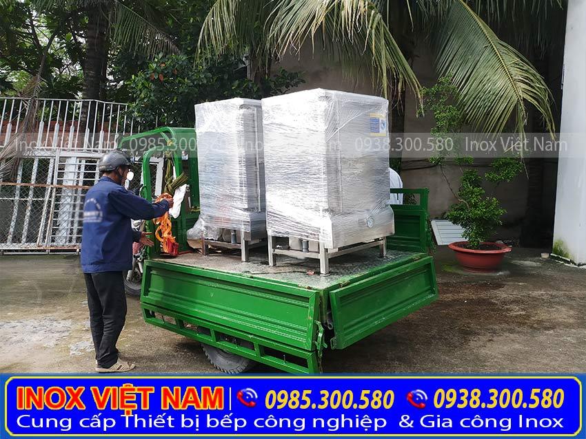 Địa chỉ mua tủ hấp cơm công nghiệp 6 khay, tủ hấp cơm 6 khay sử dụng điện và gas uy tín chất lượng tại TP HCM. Liên hệ Inox Việt Nam Ngay.