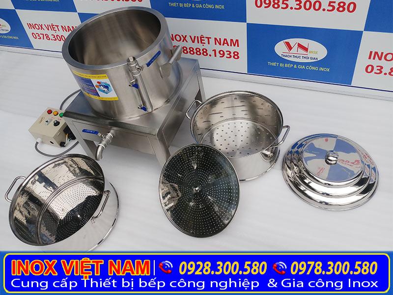 Địa chỉ mua nồi hấp công nghiệp bằng điện uy tín tại IVN, nồi hấp điện cách thủy công nghiệp giá tốt.