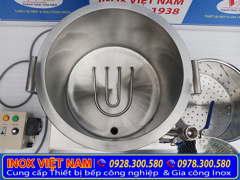 Địa chỉ mua nồi hấp công nghiệp bằng điện tại IVN uy tín chất lượng giá tại xưởng sản xuất.