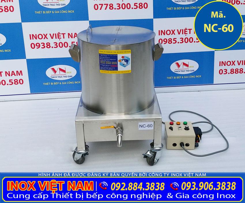 Sản phẩm nồi điện nấu cháo công nghiệp tại xưởng sản xuất của chúng tôi IVN, được nhiều khách hàng tin chọn.
