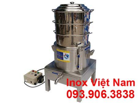 Nồi hấp bánh bao 3 tầng, sản phẩm Nồi hấp bánh bao bằng điện 3 tầng giá tốt mua tại xưởng sản xuất IVN. Liên hệ mua ngay.