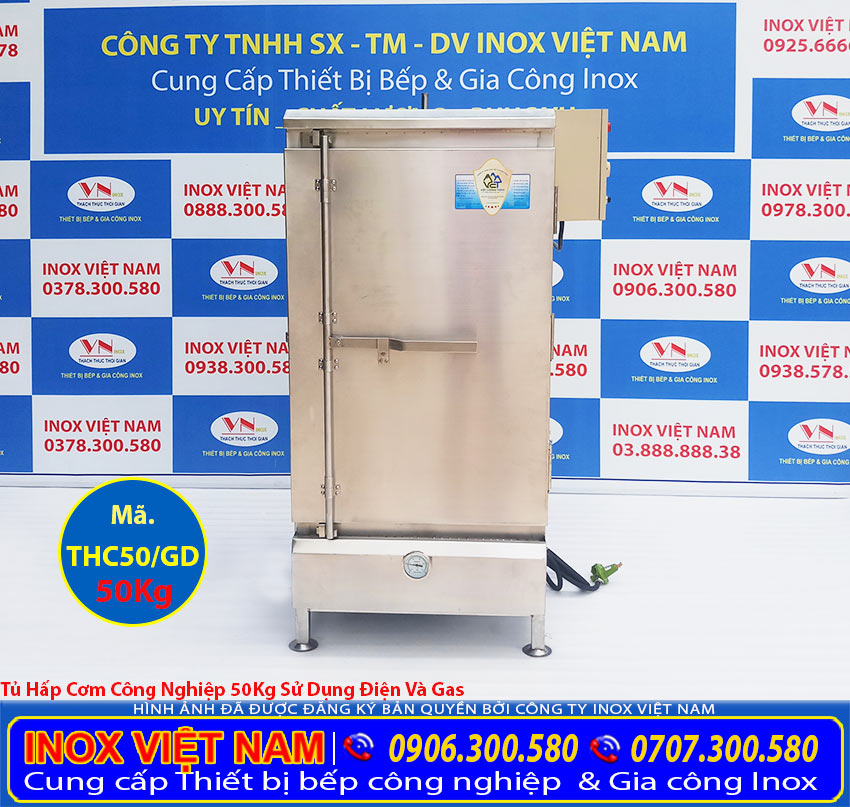 Inox Việt Nam tự hào mang đến tủ nấu cơm công nghiệp bằng gas và điện, tủ cơm công nghiệp giá gốc tại xưởng của chúng tôi vì thể rẻ hơn thị trường cùng loại.