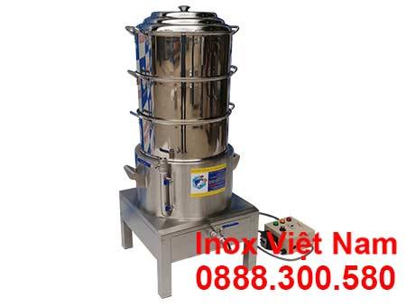 Giá nồi hấp cơm tấm bằng điện size D440 xưởng IVN