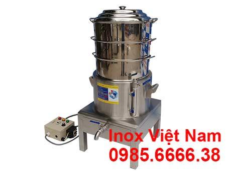 Nồi hấp bánh bao bằng điện tại IVN sản phẩm nồi hấp đa năng uy tín chất lượng.