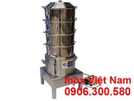 Nồi inox hấp cơm tấm bằng điện size D 500mm