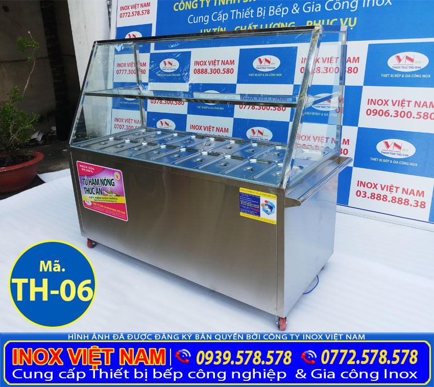 Báo giá tủ giữ nóng thức ăn công nghiệp 18 khay xuất xứ tại Inox Việt Nam chúng tôi.