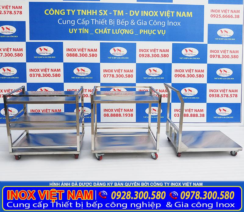 Báo giá xe đẩy inox 304 uy tín chuyên nghiệp trung thật giao hàng tận nơi cho quý khách. Liên hệ Inox Việt Nam ngay.