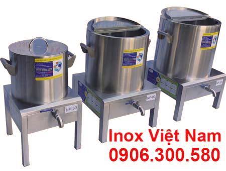 Bộ 3 nồi điện nấu phở, nồi nấu phở bằng điện 30, 80, 100 lít.
