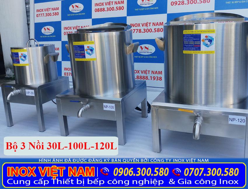 Báo giá tư vấn và gia công sản xuất bộ nồi điện nấu phở 30 lít 100 lít và 120 lít hoặc liên hệ về chúng tôi Inox Việt Nam sẽ sản xuất theo yêu cầu của quý khách.