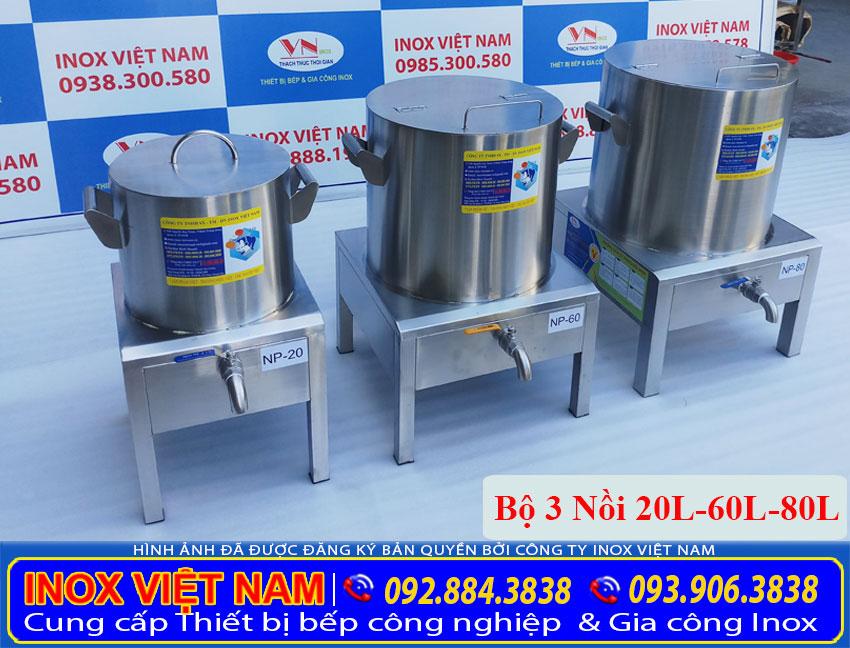 Inox Việt Nam địa chỉ bán bộ nồi nấu phở bằng điện 20 lít, 60 lít, 80 lít uy tín chất lượng giá gốc tại xưởng sản xuất.