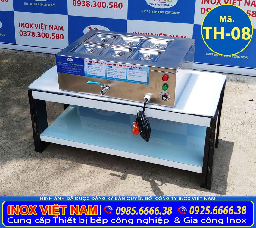 Giá bán tủ hâm nóng thức ăn mini, tủ hâm nóng để bàn. Liên hệ Inox Việt Nam ngay.
