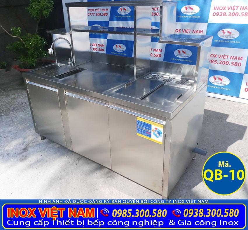 Giá quầy bar cafe inox tại xưởng sản xuất Inox Việt Nam TP HCM, quầy bar inox trà sữa đẹp. Liên hệ tư vấn ngay.