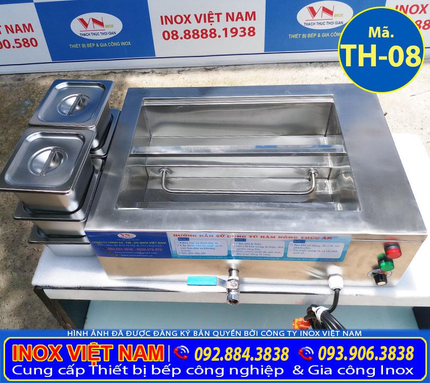 Sản phẩm máy hâm nóng thức ăn, máy giữ nóng thức ăn để bàn là sự lựa chọn tiện ích.