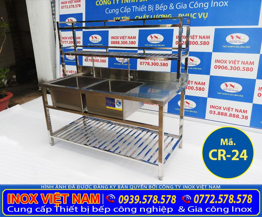Bạn muốn biết ở đâu bán chậu rửa đôi 2 hộc lớn, chậu rửa inox công nghiệp giá xưởng hãy liên hệ đơn vị Inox Việt Nam nhé!