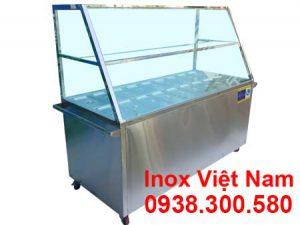 Tủ giữ nóng thức ăn 18 khay sản phẩm hâm nóng thức ăn và luôn giữ nhiệt rất an toàn vệ sinh thực phẩm.