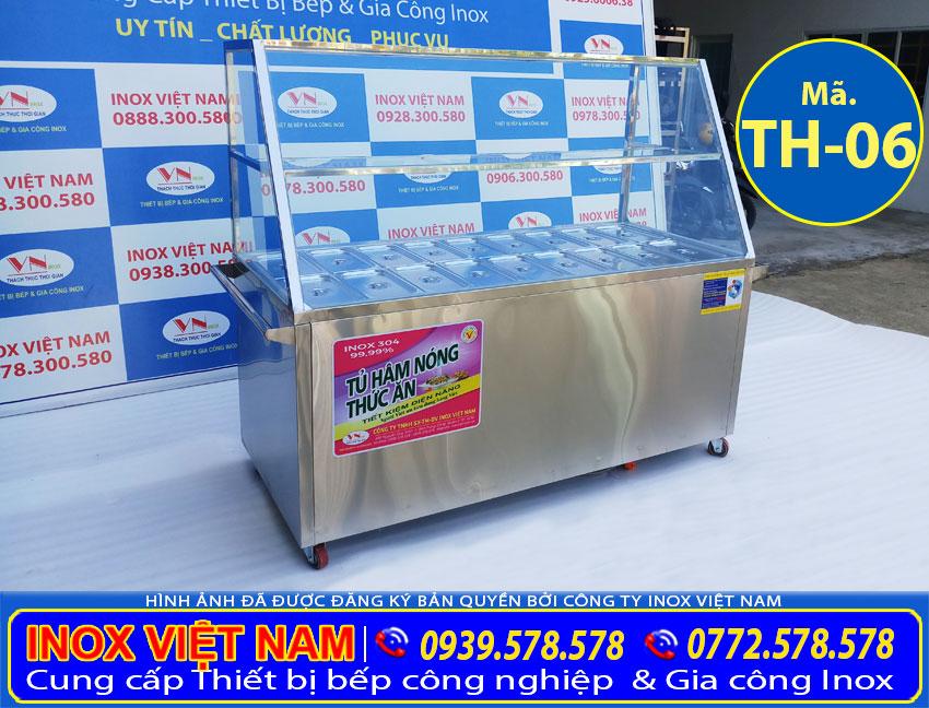 Quầy bán cháo dinh dưỡng, quầy hâm nóng bán cháo dinh dưỡng bằng điện giá tốt tại TP HCM. Liên hệ Inox Việt Nam ngay.