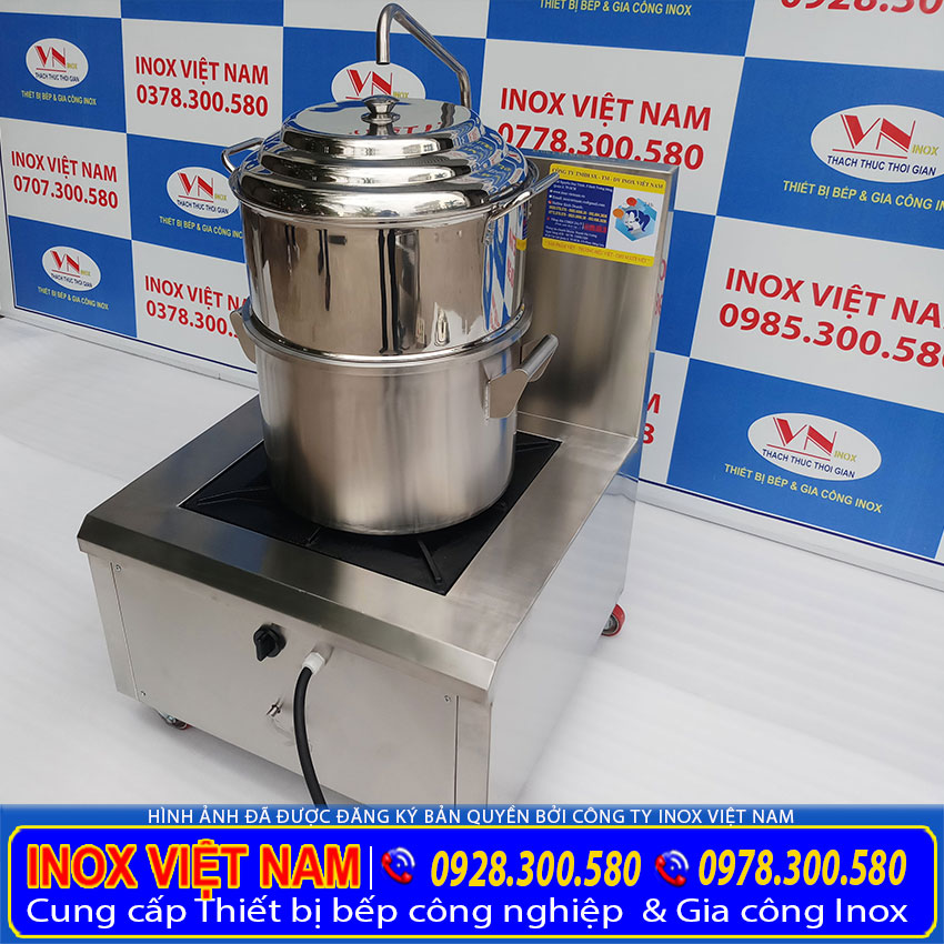 Inox Việt Nam, địa chỉ bán nồi hấp cơm tấm bằng gas uy tín chất lượng tại TP HCM giá gốc tại xưởng sản xuất.